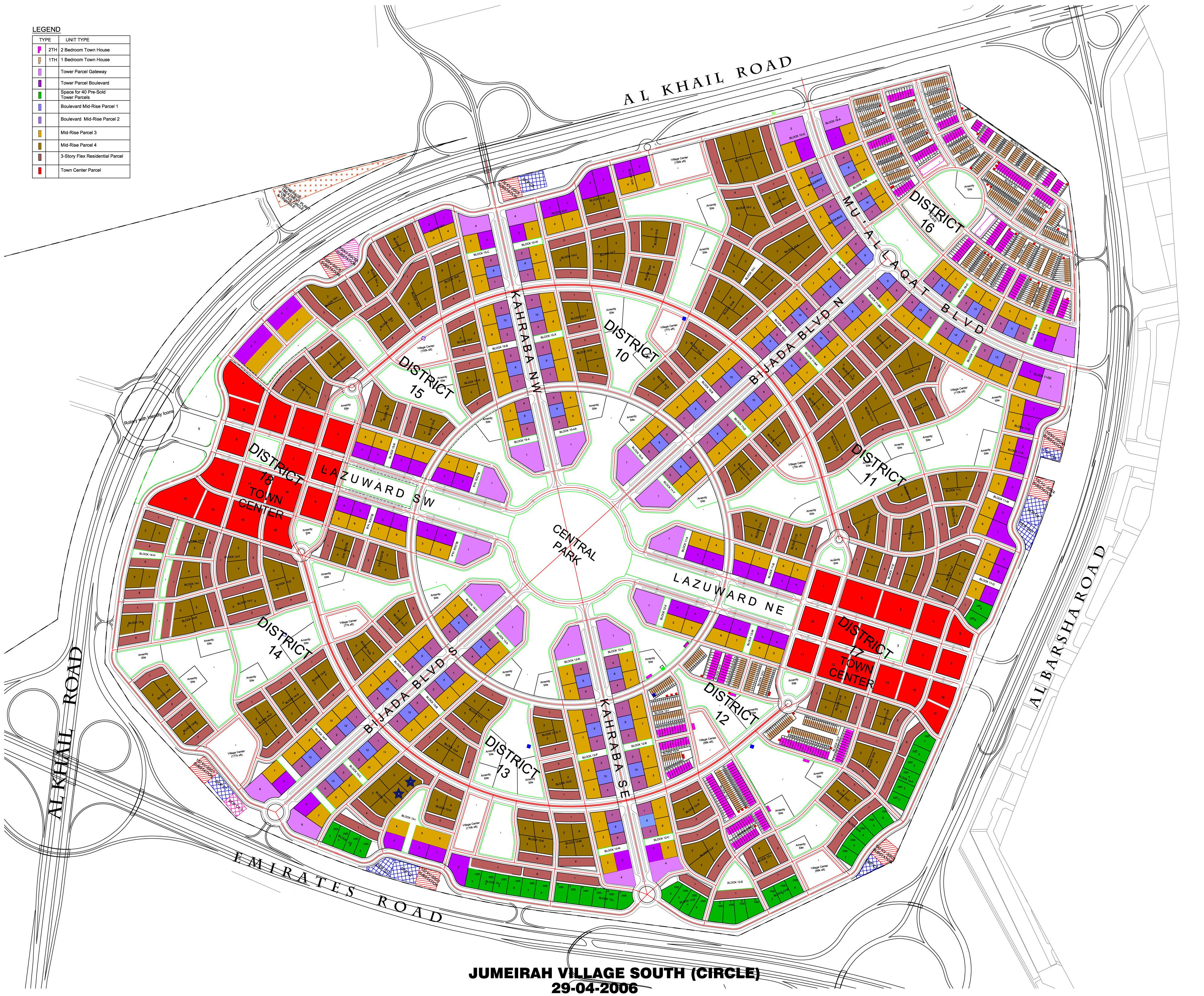 Bloom-Towers-JVC Master Plan