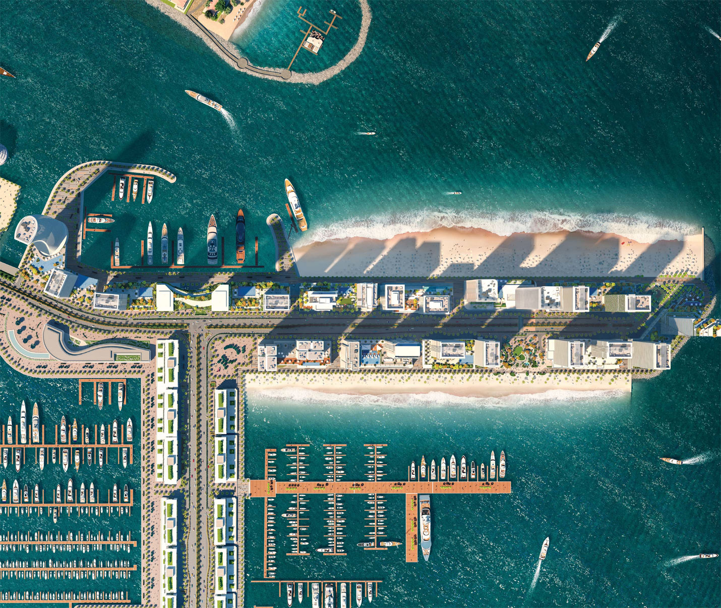 Beach Isle Tower 2 -  Master Plan