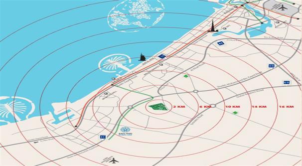 Alandalus Location Map