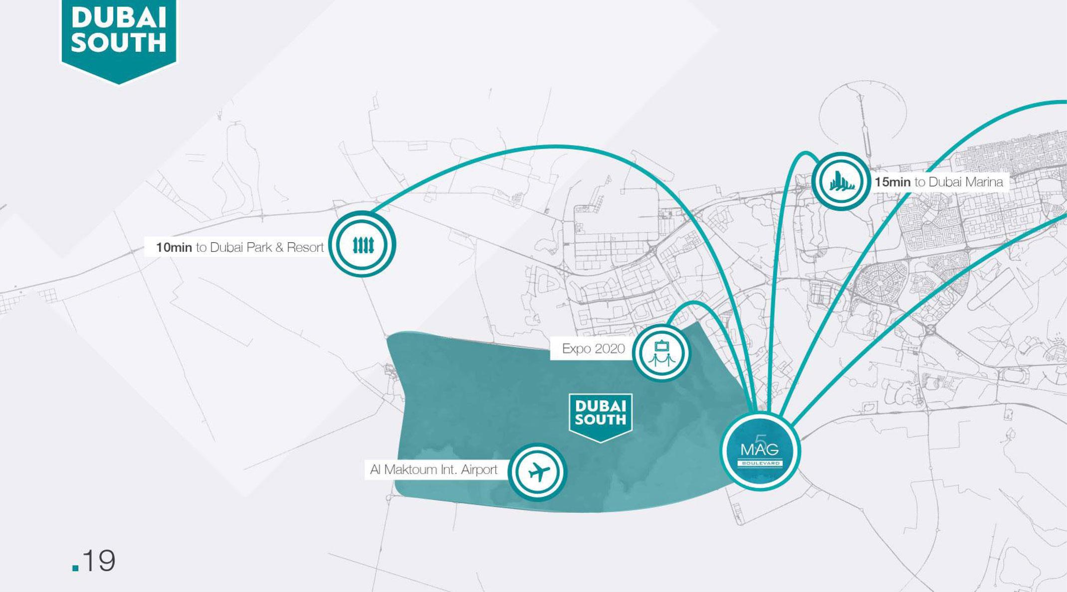 MAG 5 Boulevard -  Location Plan
