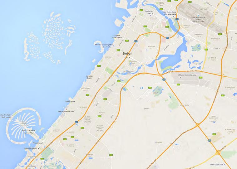 Binghatti-Views Location Map