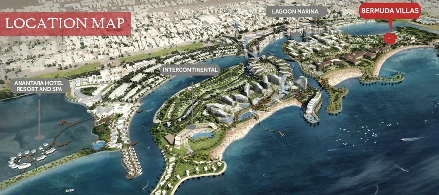 Bermuda Villas -  Location Plan