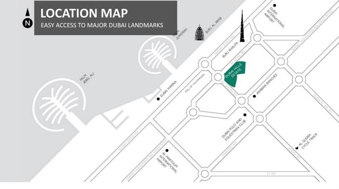 Fairway-Vistas Location Map