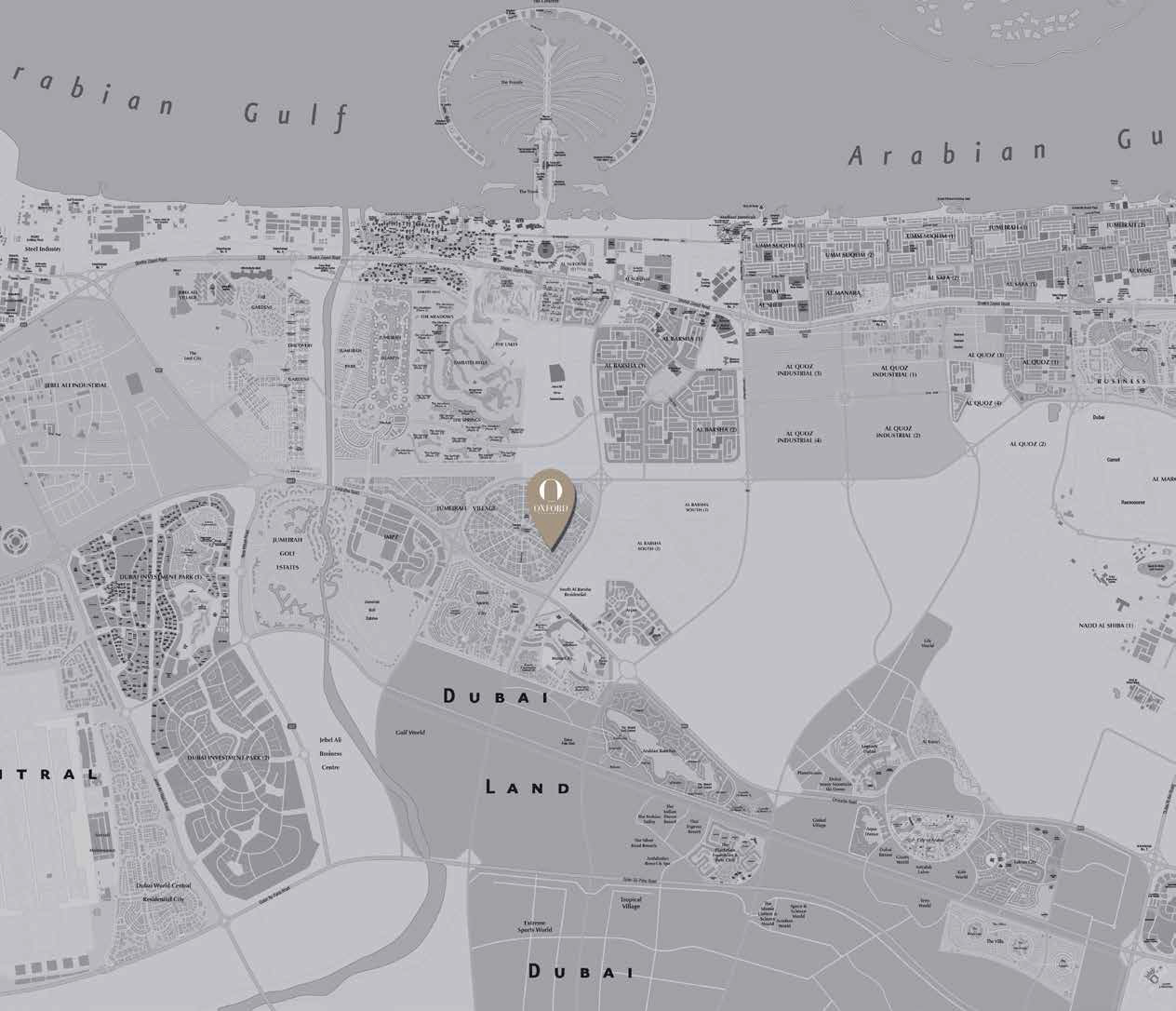 Oxford Residence -  Location Plan