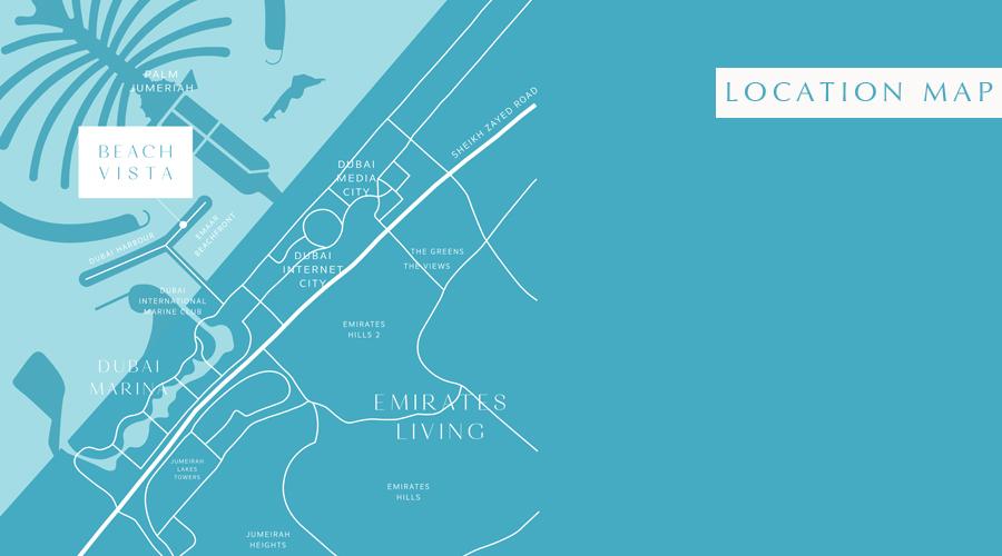 Beach Vista Apartments -  Location Plan