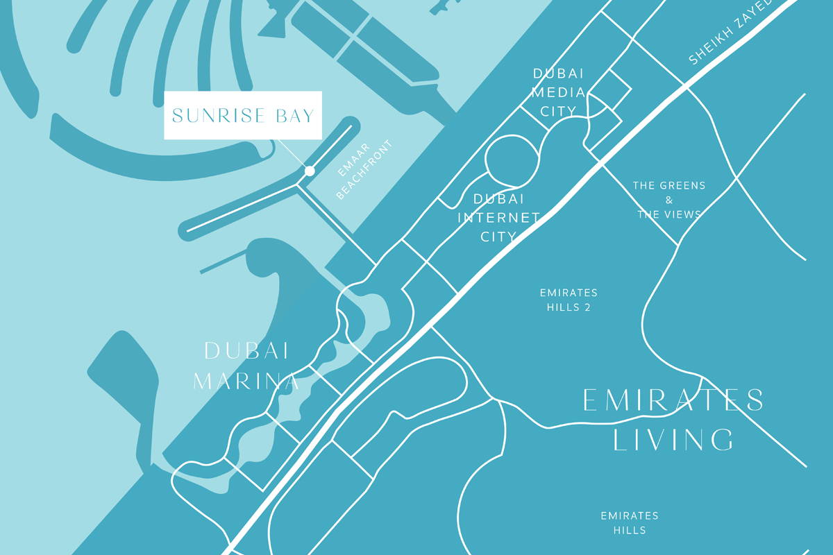 Sunrise-Bay Location Map