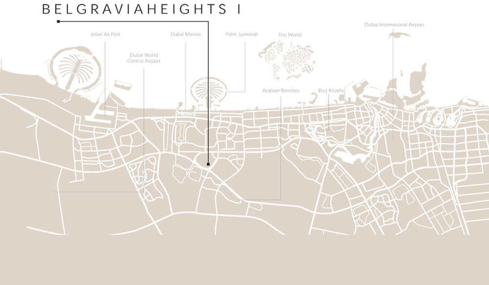 Belgravia-Heights Location Map