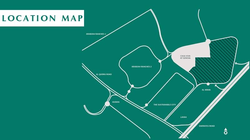 Casa Viva -  Location Plan