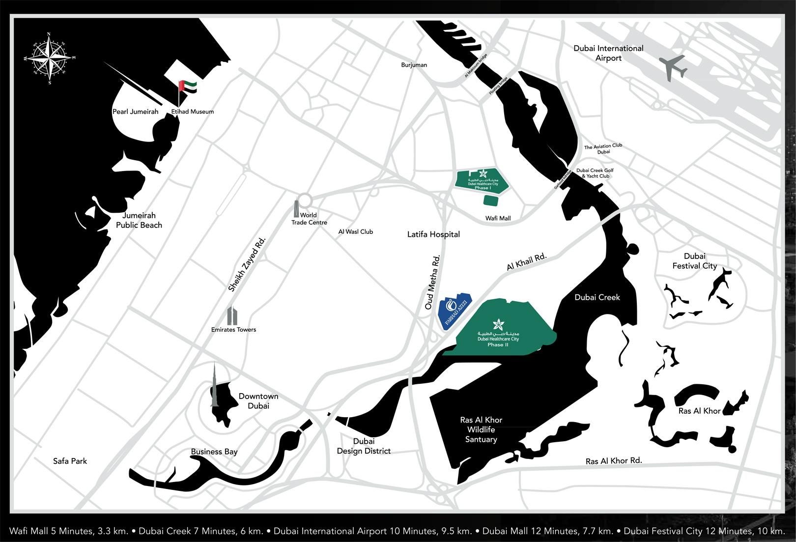 Farhad Residence -  Location Plan