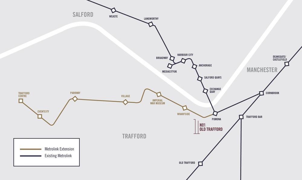 No 1 Trafford Wharf -  Location Plan