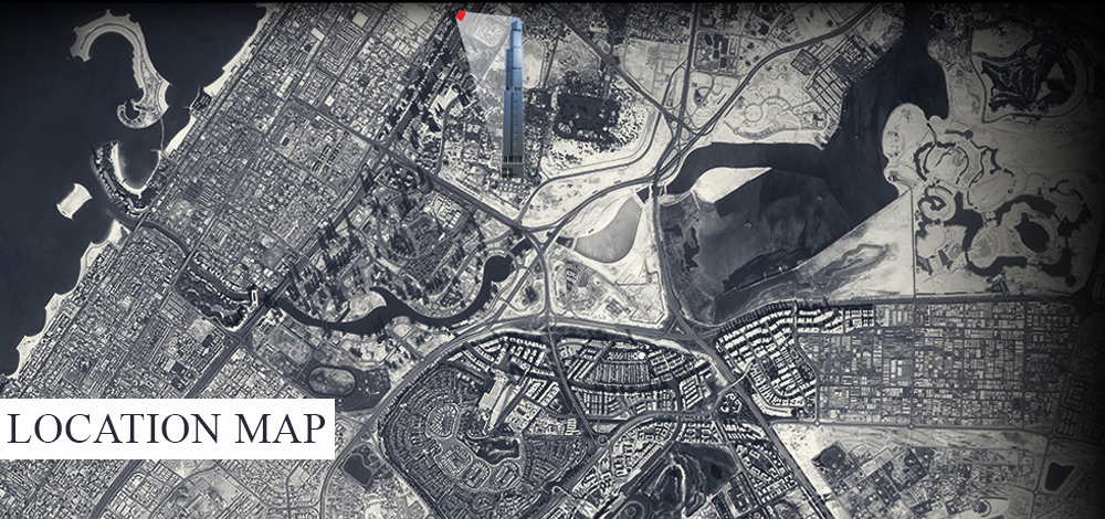 Entisar-Tower Location Map