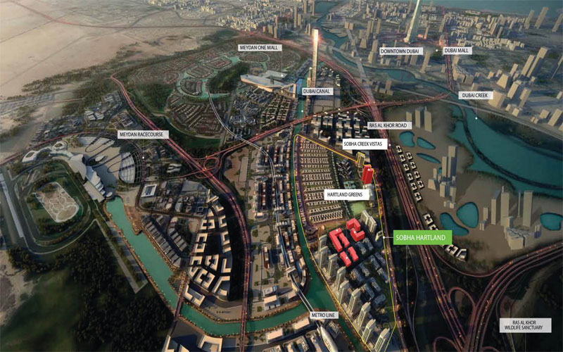 Hartland Greens 4 -  Location Plan