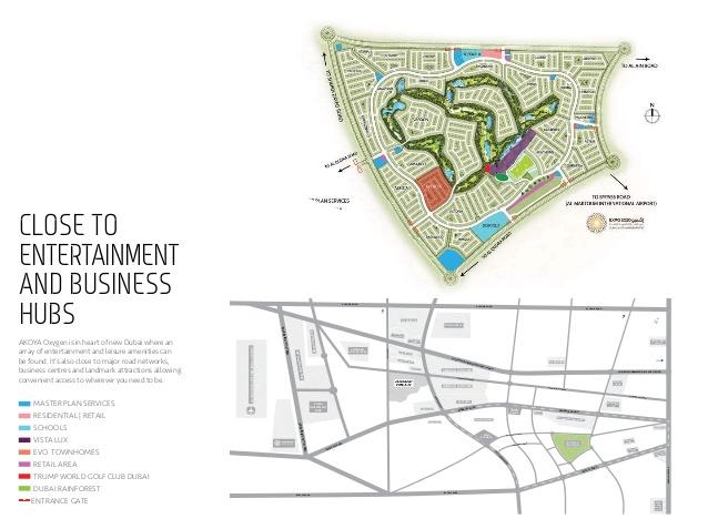 EVO Townhomes -  Location Plan