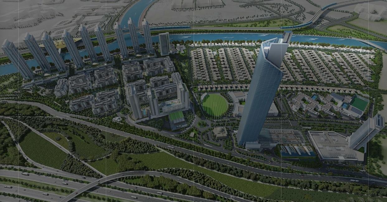 Sobha Hartland Estates -  Location Plan