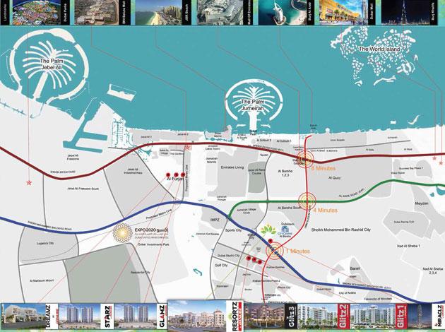 Danube-Resortz Location Map