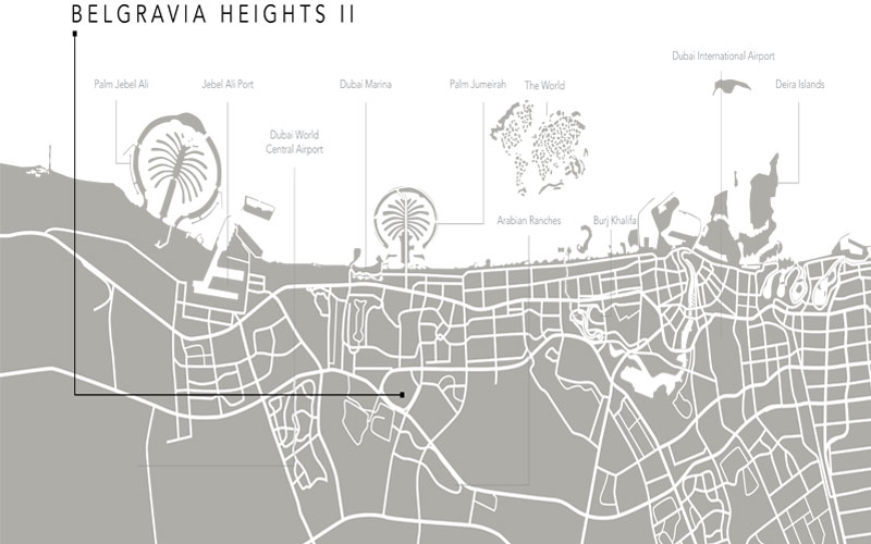 Belgravia Heights II -  Location Plan