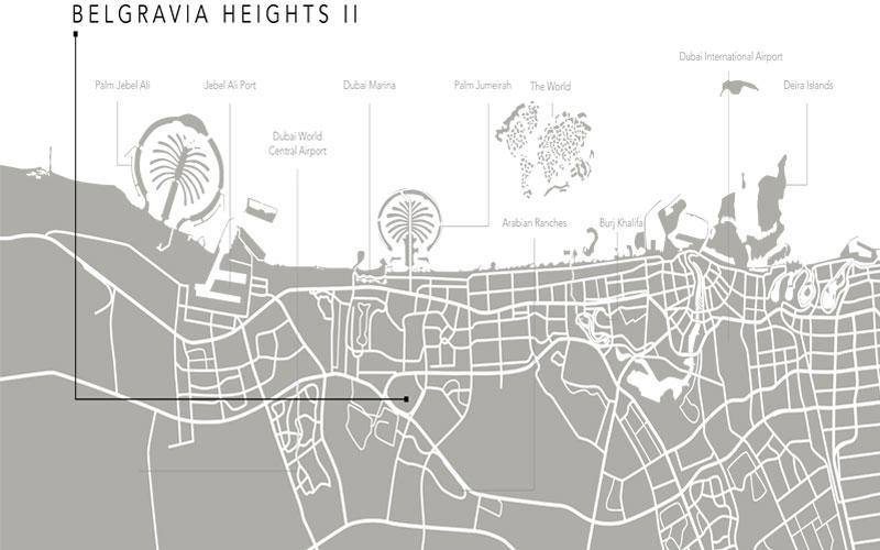 Belgravia-Heights-II Location Map
