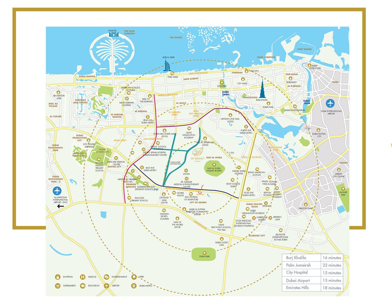 The Neighbourhood -  Location Plan