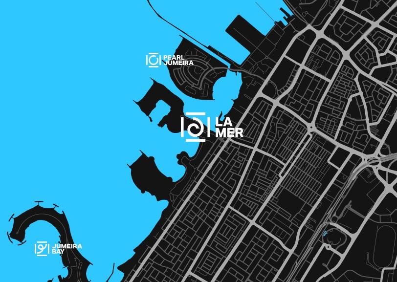 La-Mer-Beach-Residences Location Map