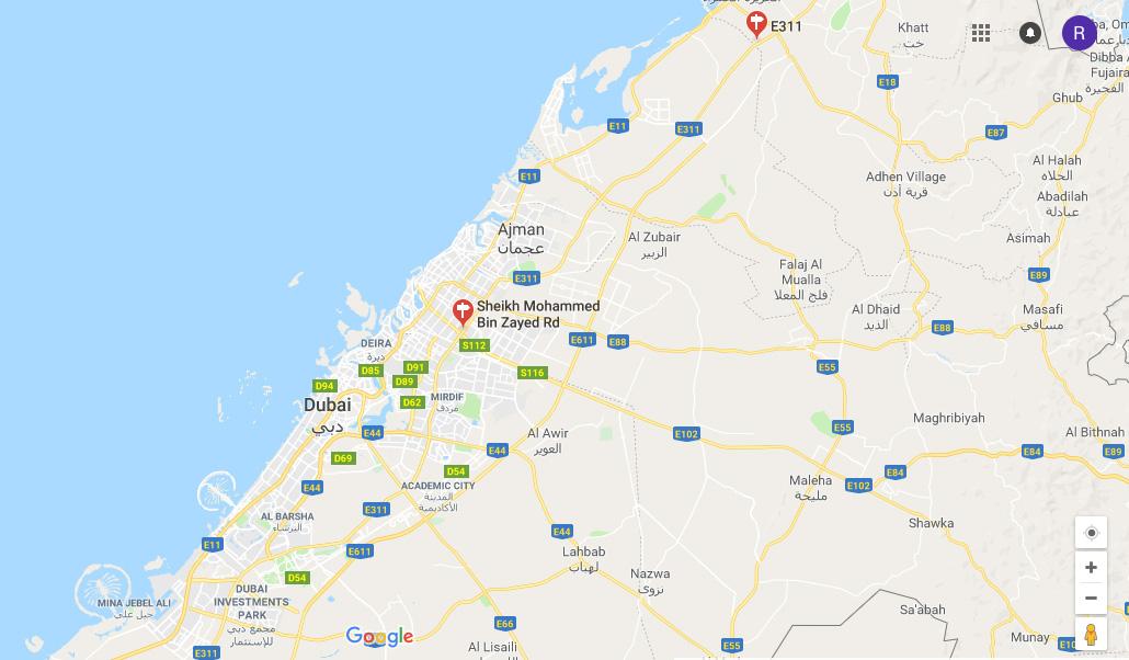 Samaya-Hotel-Apartments Location Map