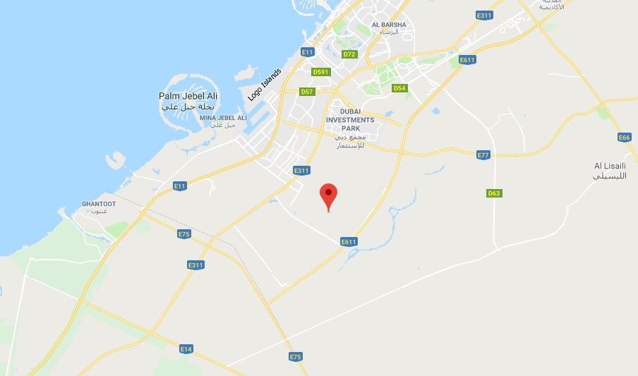Parkside-Villas Location Map