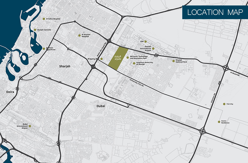 Sarab Community -  Location Plan