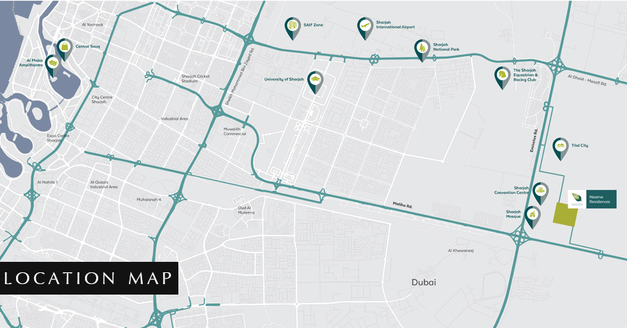 Signature-Villas Location Map