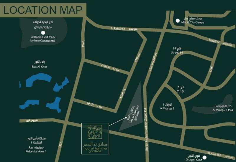 Nad-Al-Hammar Location Map