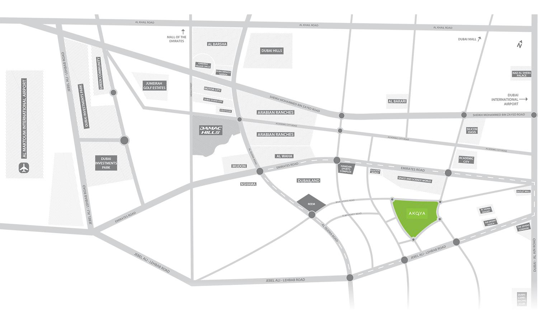 Adria Villas -  Location Plan