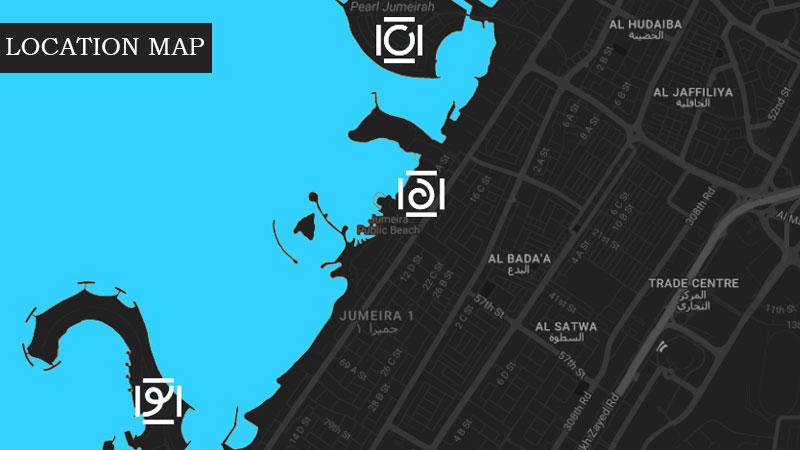La Rive Apartments -  Location Plan