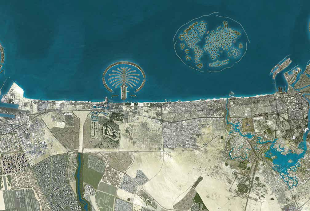 Jumeirah-Islands-Townhouses Location Map