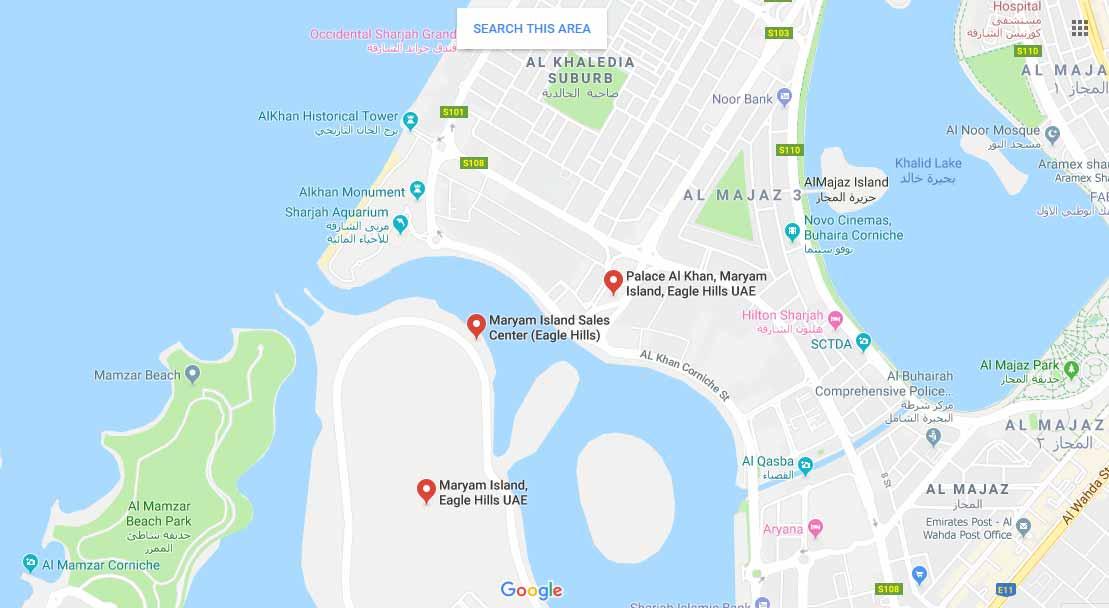 Indigo-Beach-Residence Location Map