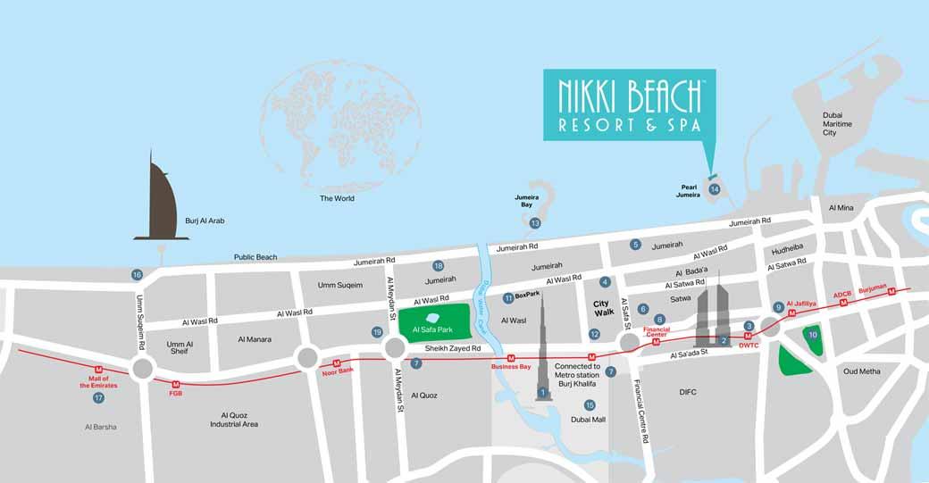 Nikki-Beach-Residences Location Map