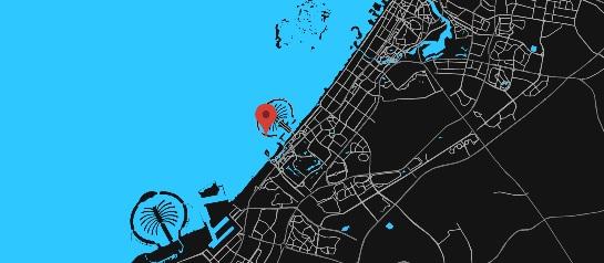 Zabeel Saray -  Location Plan