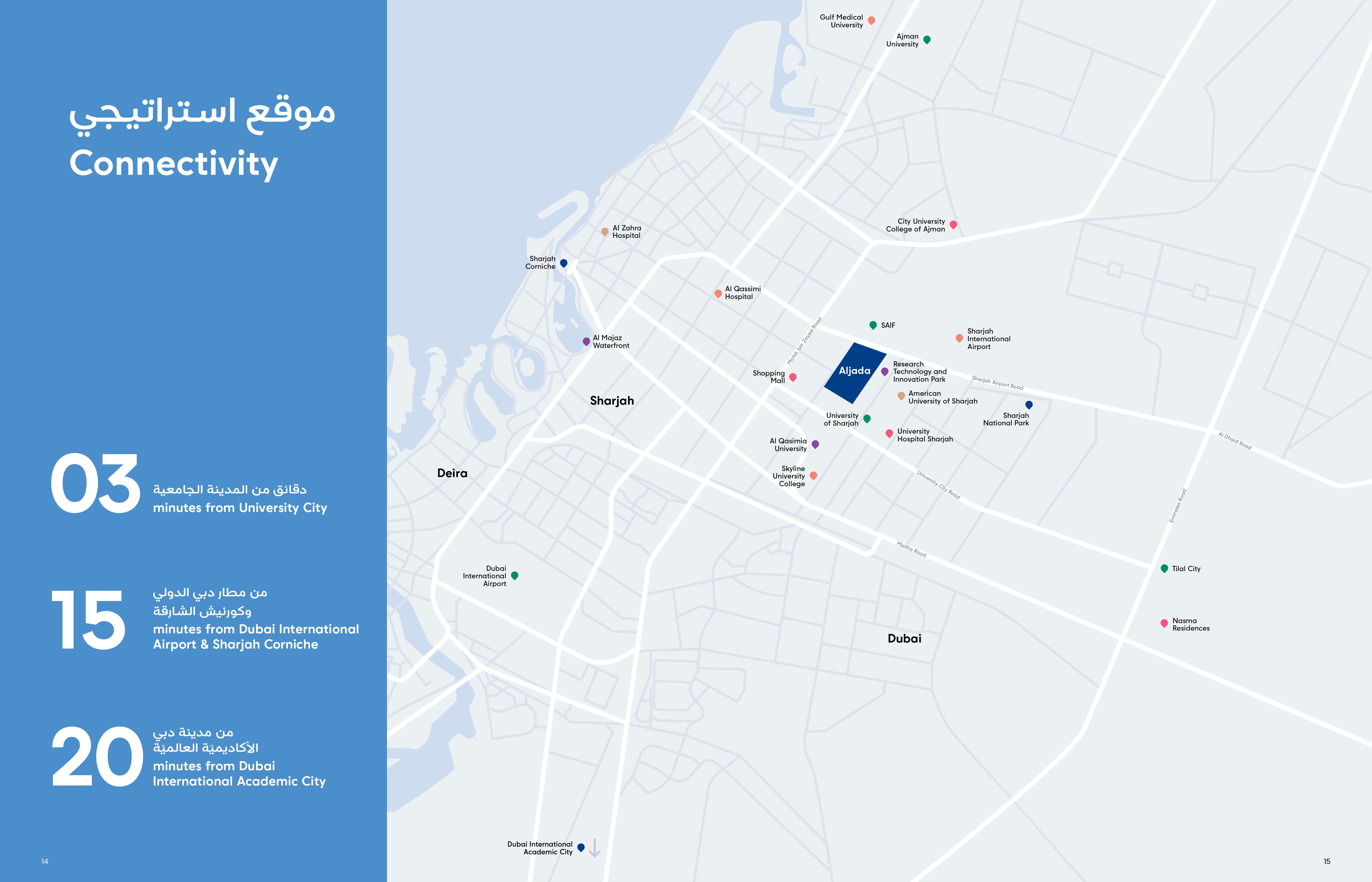 Nest-at-Aljada Location Map