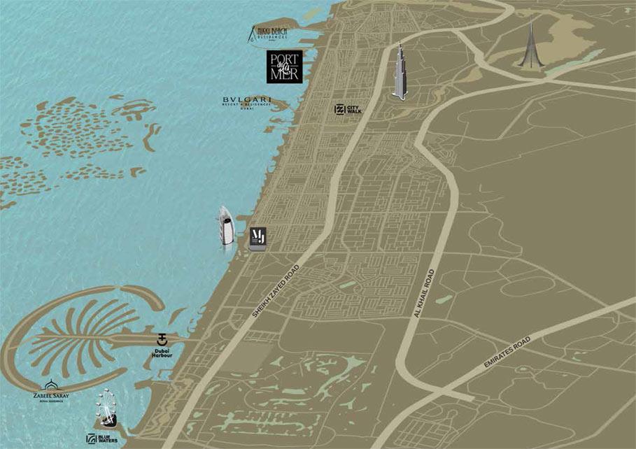 La-Rive-Building-4 Location Map