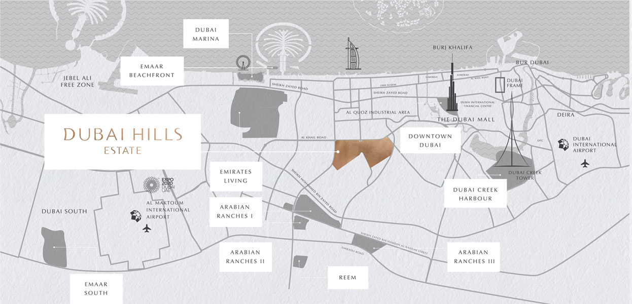 Majestic Vistas -  Location Plan
