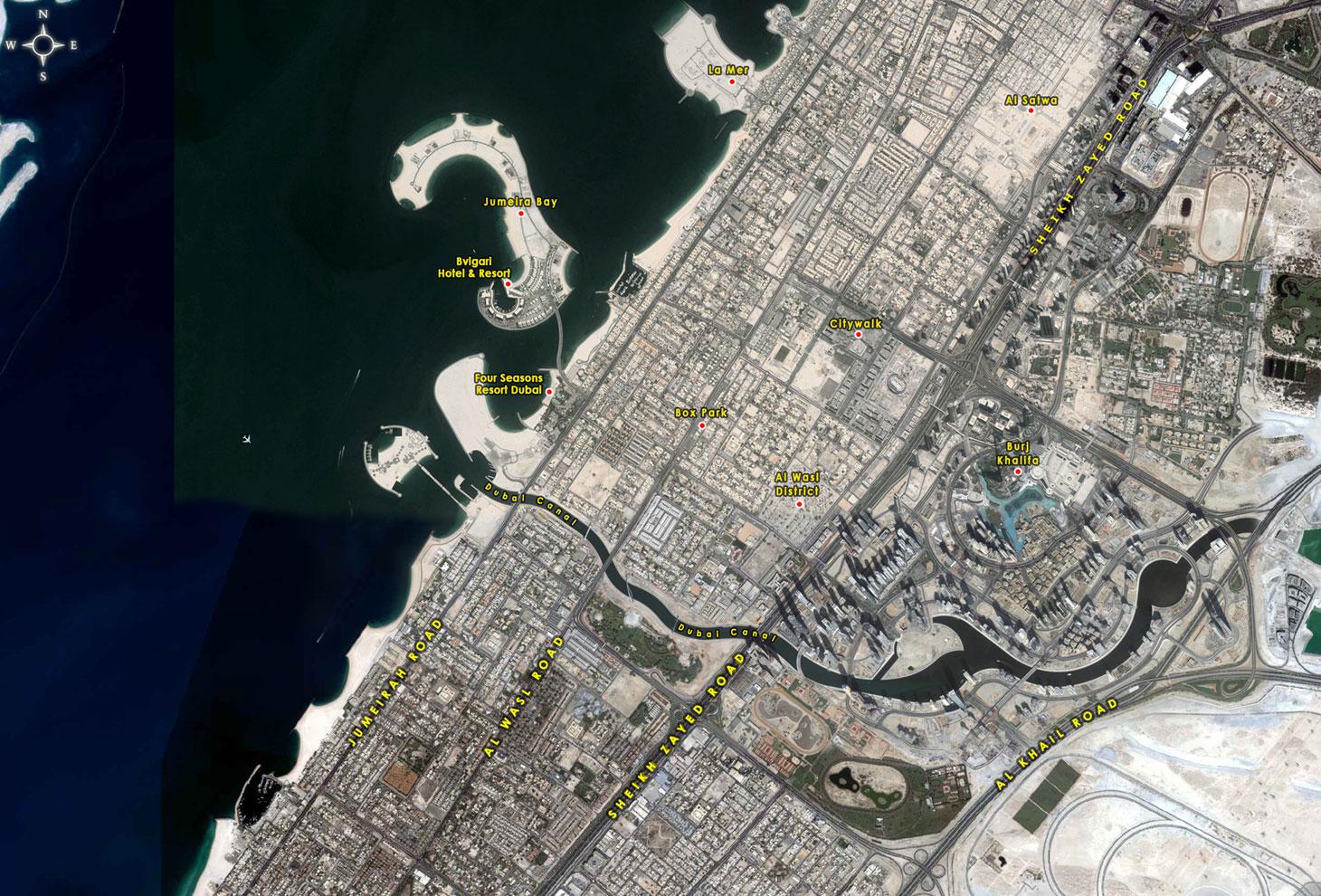 Meraas Jumeira Bay Plots -  Location Plan