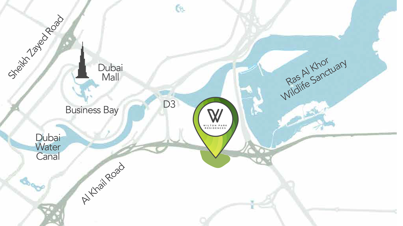 Wilton Park Residences -  Location Plan