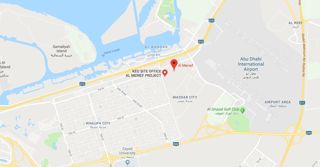 Al Merief by Aldar -  Location Plan