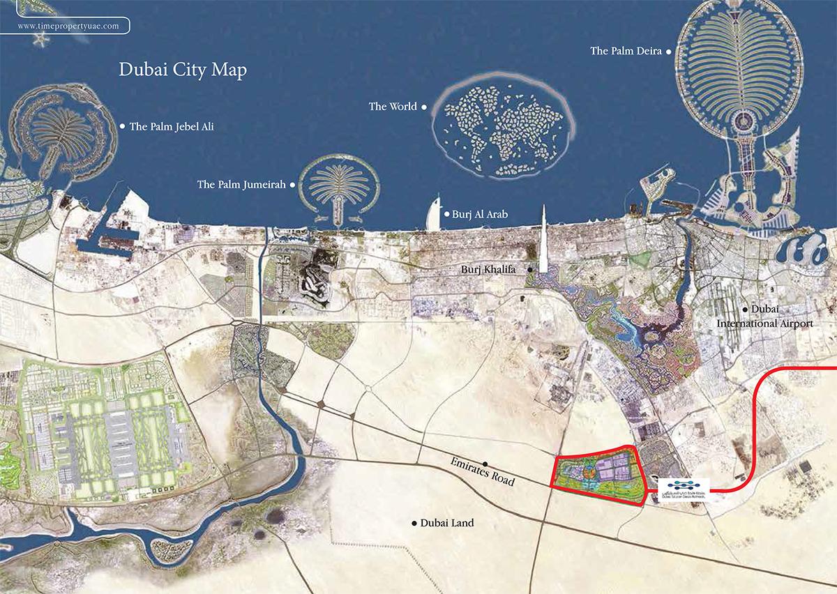Arabian Gate 2 -  Location Plan