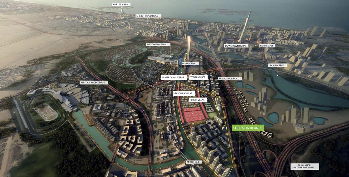 Su Misura Waterfront Villas -  Location Plan