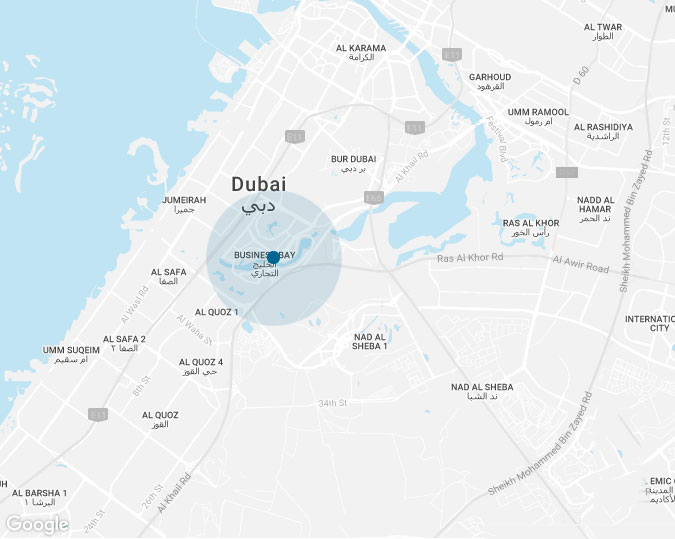 ADEO-Living-Apartments Location Map