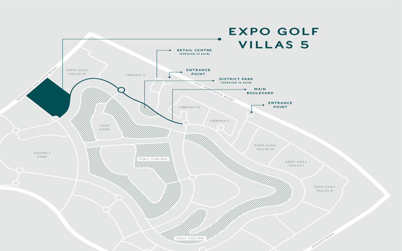 Expo-Golf-Villas-Phase-5 Location Map