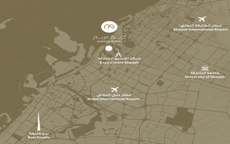 Cyan-Beach-Residence Location Map
