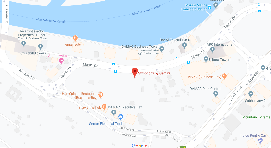 Symphony-by-Gemini Location Map