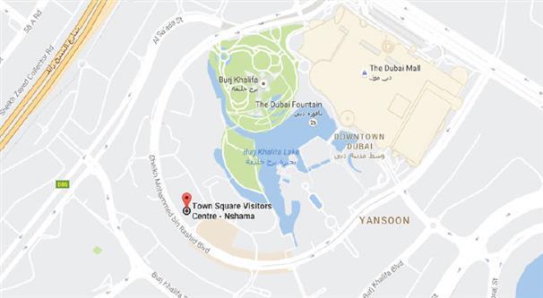 Hayat-Boulevard Location Map