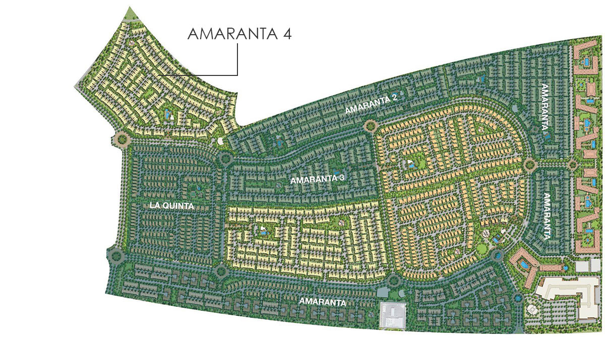 VILLANOVA-AMARANTA Location Map