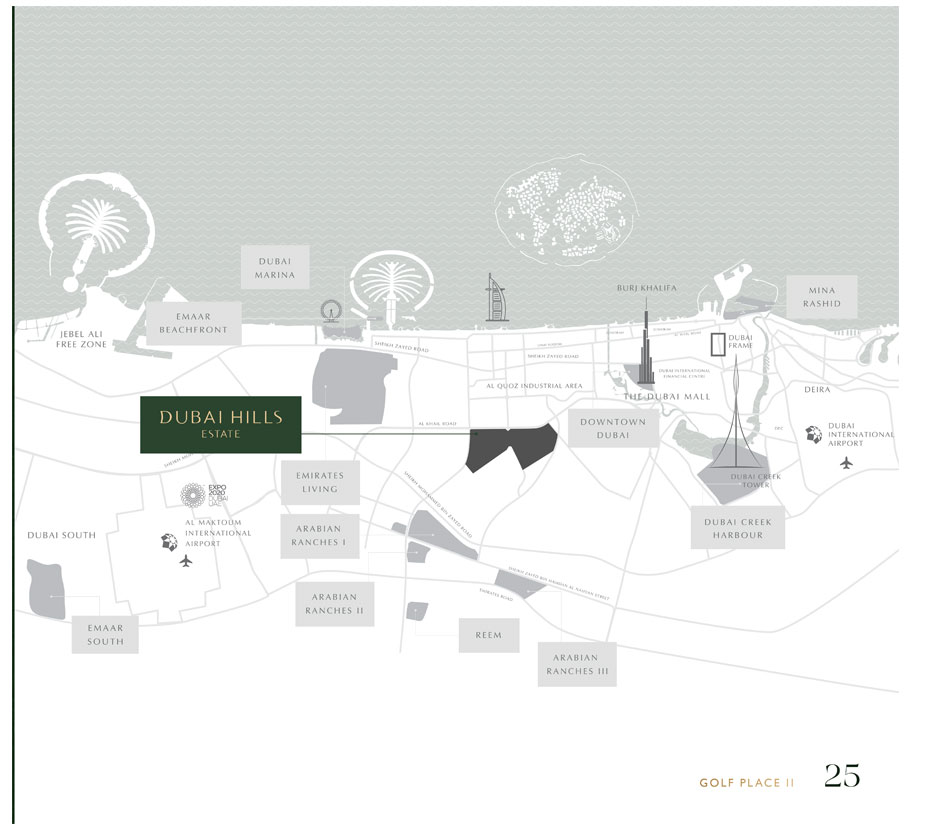 Golf Place Phase 2 -  Location Plan