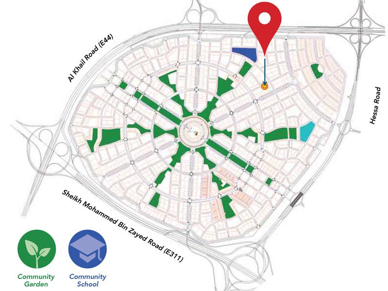 Plazzo-Heights Location Map